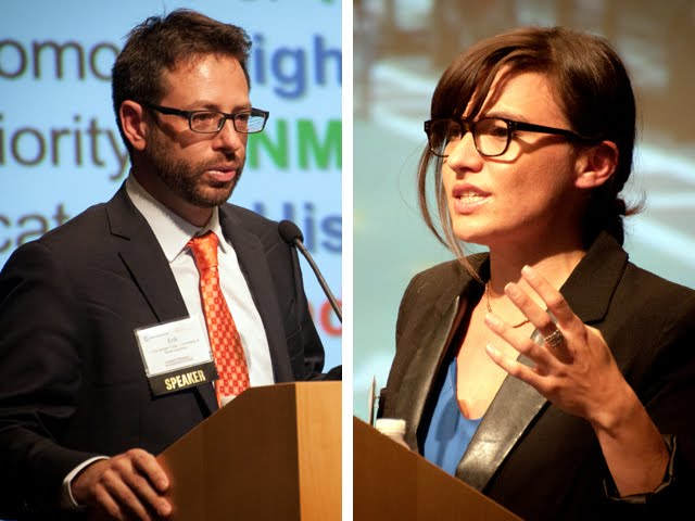 Left: Erik Vergel-Tovar. Right: Madeline Brozen.